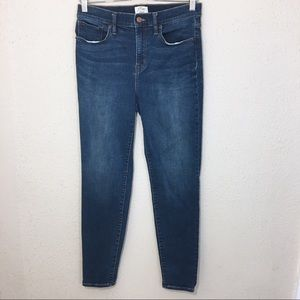 J. Crew Lookout High Rise Skinny Jeans Size 29